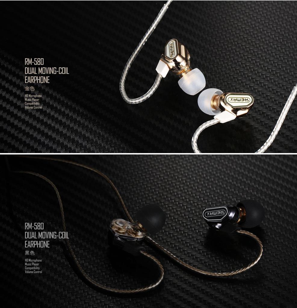 +Tai nghe Remax RM-580 âm thanh stereo cực đỉnh 4.2