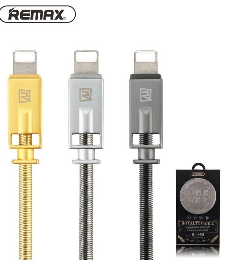 CÁP SẠC IPHONE IPAD REMAX RC - 056i Hỗ trợ sạc nhanh