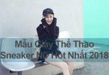 Giày Thể Thao, Sneaker Nữ Hot 2018