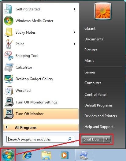 cách tắt máy tính nhanh bằng bàn phím trên windows 10,8,7 vinetteam 4