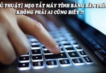 cách tắt máy tính nhanh bằng bàn phím trên windows 10,8,7 vinetteam 6