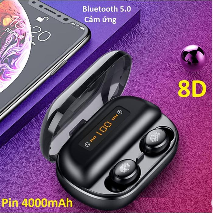 Tai nghe bluetooth 5.0 cảm ứng cao cấp Amoi V11-V12
