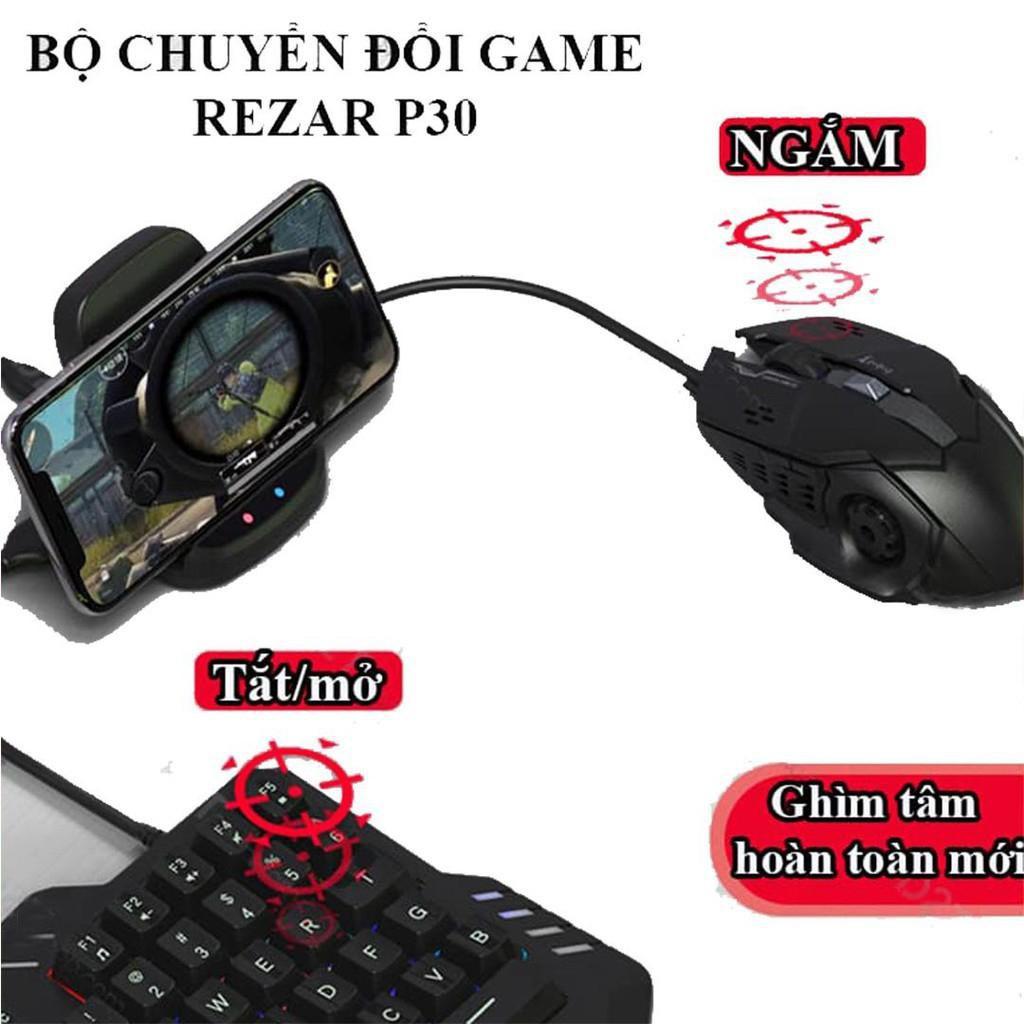 Bộ chuyển đổi chơi game pubg mobile REZAR P30
