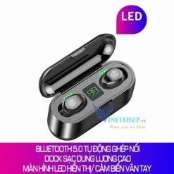Tai nghe true wireless AMOI F9 | bản cảm ứng | Bluetooth 5.0