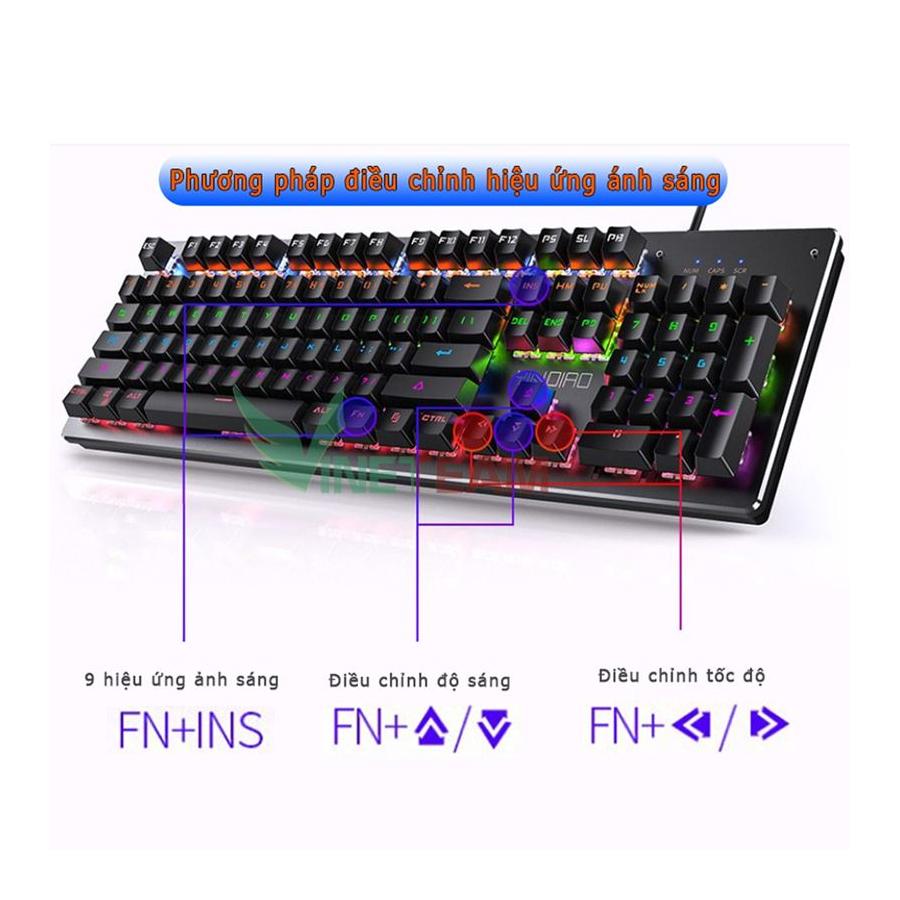 bàn phím cơ DareU K880