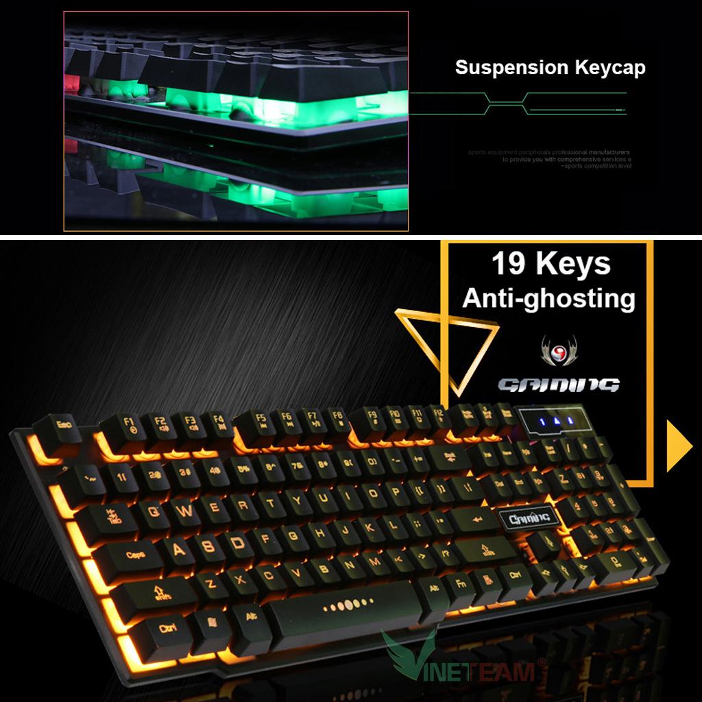 bàn phím giả cơ chuyên game V8
