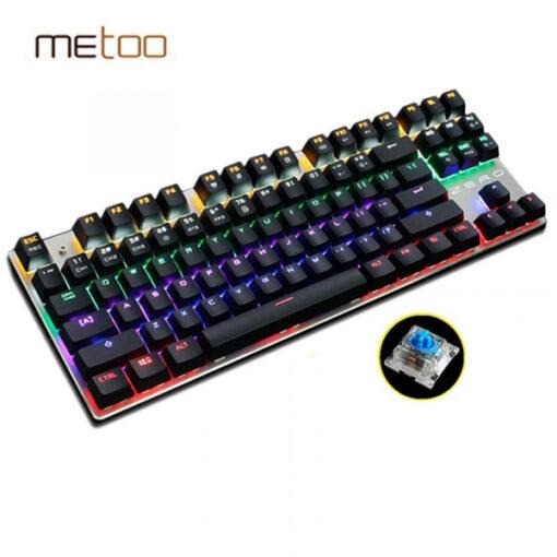 Bàn phím cơ Zero Metoo TKL có led 87 phím bản quốc tế