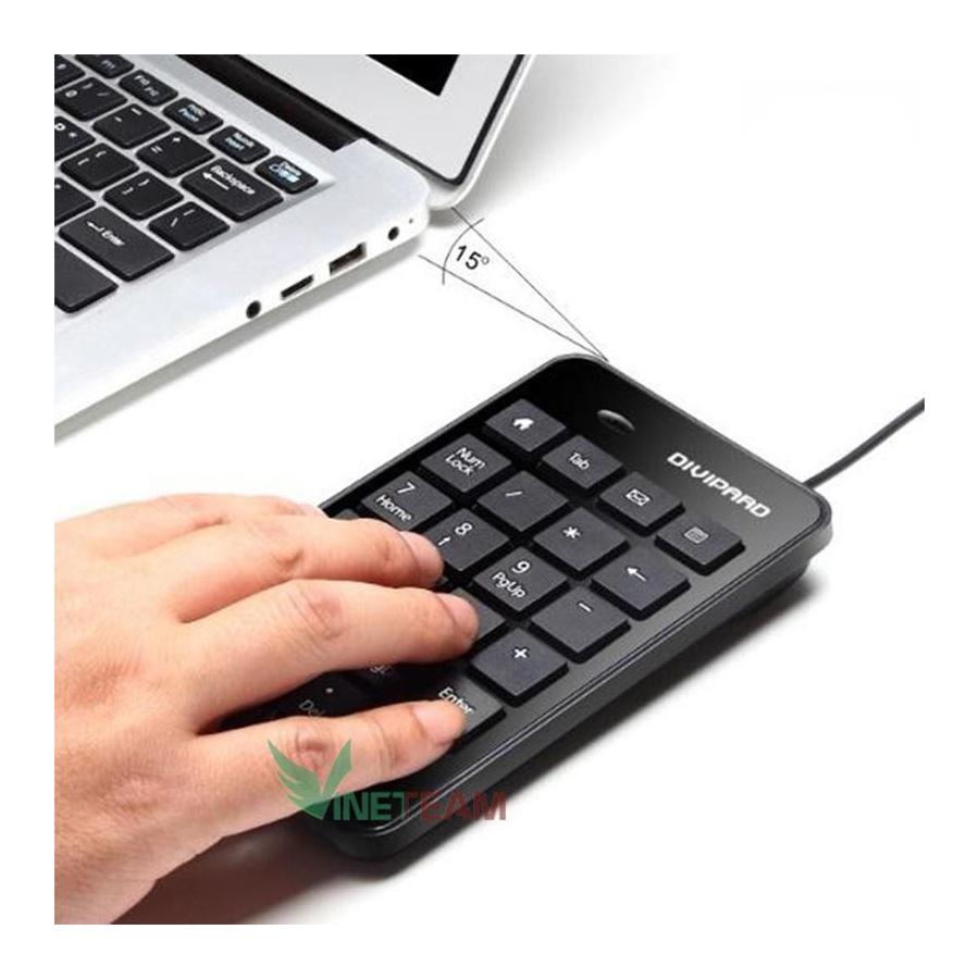 bàn phím số có dây Divipad D500