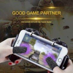 Bao ngón tay cảm ứng chống mồ hôi khi chơi game mobile