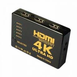 Switch HDMI 4k - Bộ chia HDMI vào 3 ra 1 chuẩn 4K