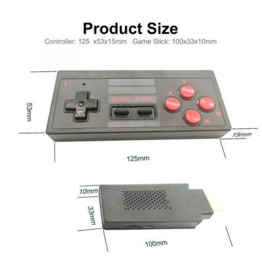 Máy Chơi Game Cầm Tay Kết Nối Tivi - Máy Chơi Game 4 Nút Mini Không Dây Tích Hợp 628 Game [ 2021 ]