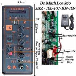 Bo Mạch Loa Kéo JBZ 106-107-108-109 - Hàng Chính Hãng JBZ