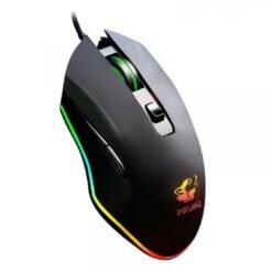 Chuột Gaming có dây Free Wolf Black V1 Led RGB