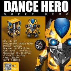 Đồ chơi cho bé-Robot Nhảy Múa - Bumblebee Dance Hero