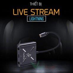 Dây livestream Stereo otg cho iphone