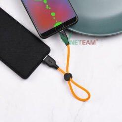 Cáp Sạc Hoco X21 Plus Micro (25 cm) Dành Cho Điện Thoại Android