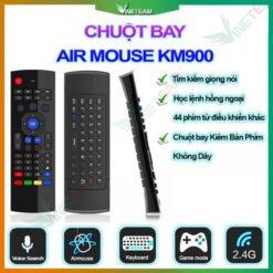 Điều Khiển Chuột Bay Bằng Giọng Nói KM900 thế hệ mới MX3 Pro chuyên dụng cho Android Box, Smart TV, máy tính