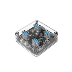 Hub chia 4 cổng USB 3.0 Orico MH4U trong suốt