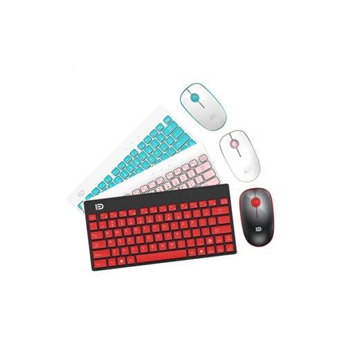 Bộ bàn phím và chuột không dây Forter G-1500