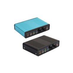 Card âm thanh box 5.1 USB 6CH + Optical audio