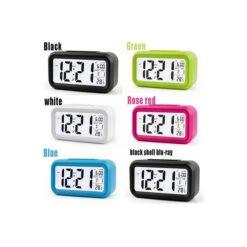 Đồng hồ báo thức điện tử kỹ thuật số cảm biến đa chức năng LC01- Nhiều màu