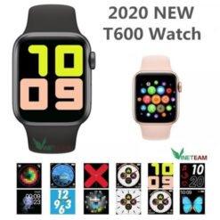 Đồng hồ thông minh T600 Watch series 5, chống nước tốt, cảm ứng mượt