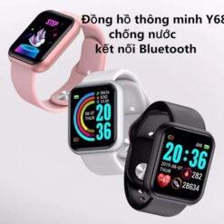 Đồng hồ Thông Minh Y68 Giá Rẻ, Chống Nước IP67, Thay Hình Nền, Hỗ Trợ Tiếng Việt [Phiên Bản 2021]