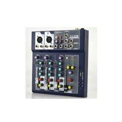 Bộ trộn âm thanh Mixer F4 Pro USB