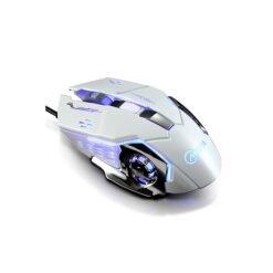 Chuột game thủ detek G502 cực bền thiết kế độc lạ có LED