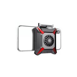 Quạt tản nhiệt gaming K02 cho điện thoại chơi PUBG, dễ kết hợp với nút bấm game