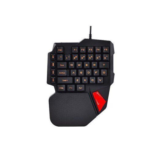 Bàn phím một tay Aturos K108 chơi game Pubg Mobile, Rules of Survival, Free Fire trên điện thoại, máy tính bảng, Laptop và PC
