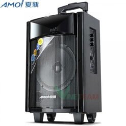 Loa Bluetooth Hát Karaoke Xách Tay Di Động Amoi 830 ̣(Tặng Kèm 1 Micrio không dây)