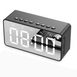 Loa Bluetooth Amoi G10 nghe nhạc siêu hay, hiển thị đồng hồ, nhiệt độ và làm gương soi trang điểm