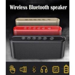 Loa Bluetooth Mini Bass Siêu Trầm Manovo X6