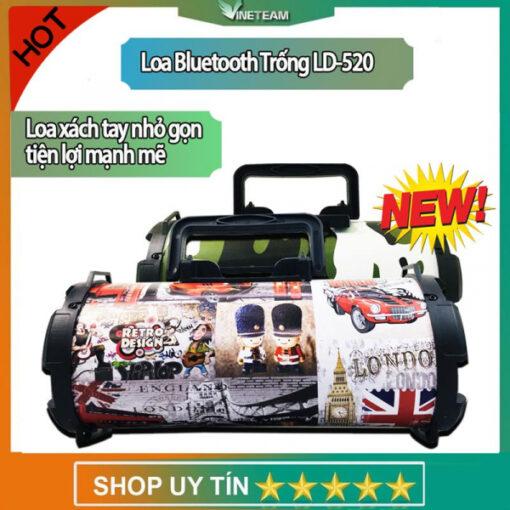 Loa bluetooth xách tay di động giá rẻ LD-520 - Màu ngẫu nhiên