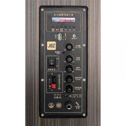 Loa Kéo Di Động Mini JBZ NE-107 Bass 3 Tấc, Hát Karaoke Chuyên Nghiệp (Tặng 2 Micro Không Dây)