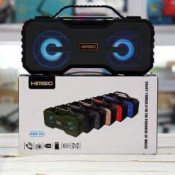 Loa bluetooth siêu bass Kimiso KMS-301, bass siêu trầm, có quai xách, đèn led đổi màu , có FM