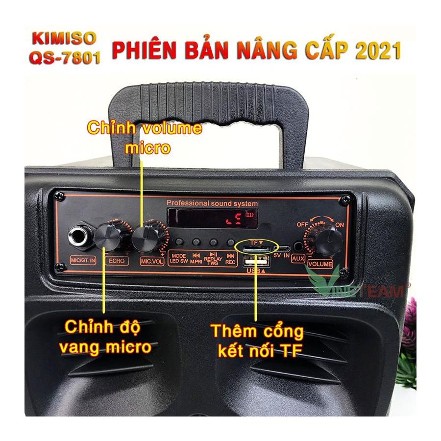 Loa kéo di động bluetooth Qs-7801