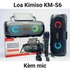 Loa Karaoke Bluetooth Xách Tay KIMISO KM-S6 (Kèm Micro)