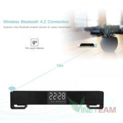 Loa bluetooth kiêm đồng hồ báo thức có led hiển thị Lp - C17