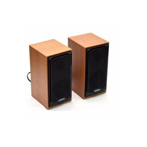 Loa vi tính siêu bền vỏ gỗ loyfun M22