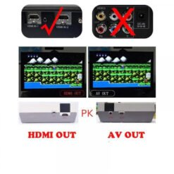 Máy Chơi Game 4 Nút 600 Game Cổng HDMI Coolbaby - Hàng nhập khẩu