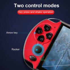 Máy chơi game cầm tay X7, màn hình 4.3 Inch, 8GB, 9000 game, Chơi Được PS1, GBA, GB, SEGA, PC, SNES, NES