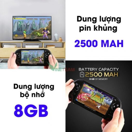 Máy Chơi Game Cầm Tay đa năng PSP X9 bản 8GB