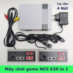 Máy Chơi Game Cổ Điển NES Classic 620 Trò Chơi