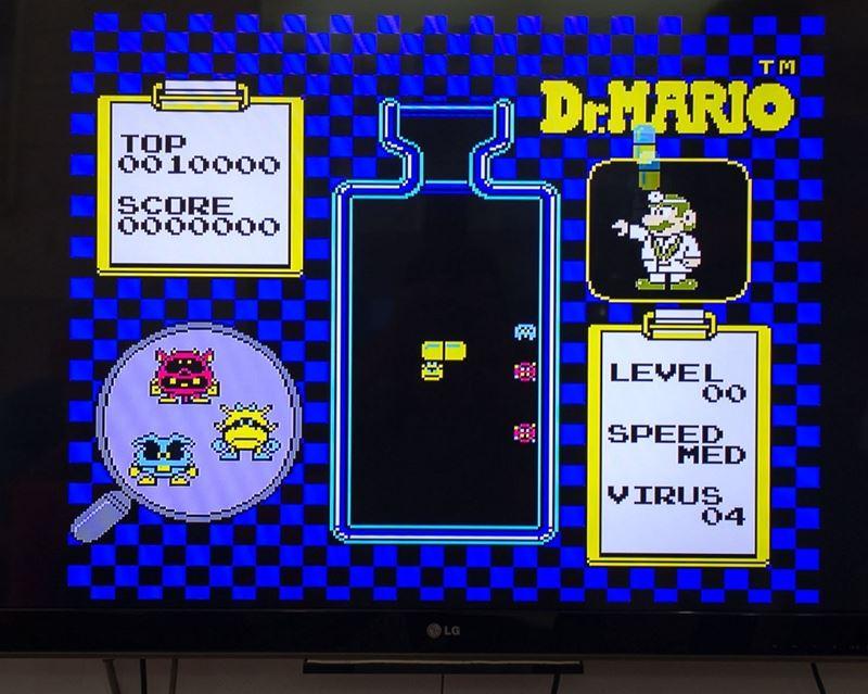 máy chơi game 4 nút Family Computer