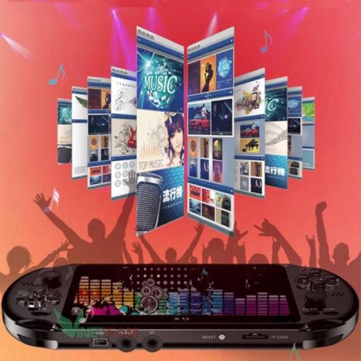 Máy Chơi Game Cầm Tay X12 5.1 Tích Hợp 64bit có sẵn 2000 trò chơi - Bộ nhớ trong 8gb