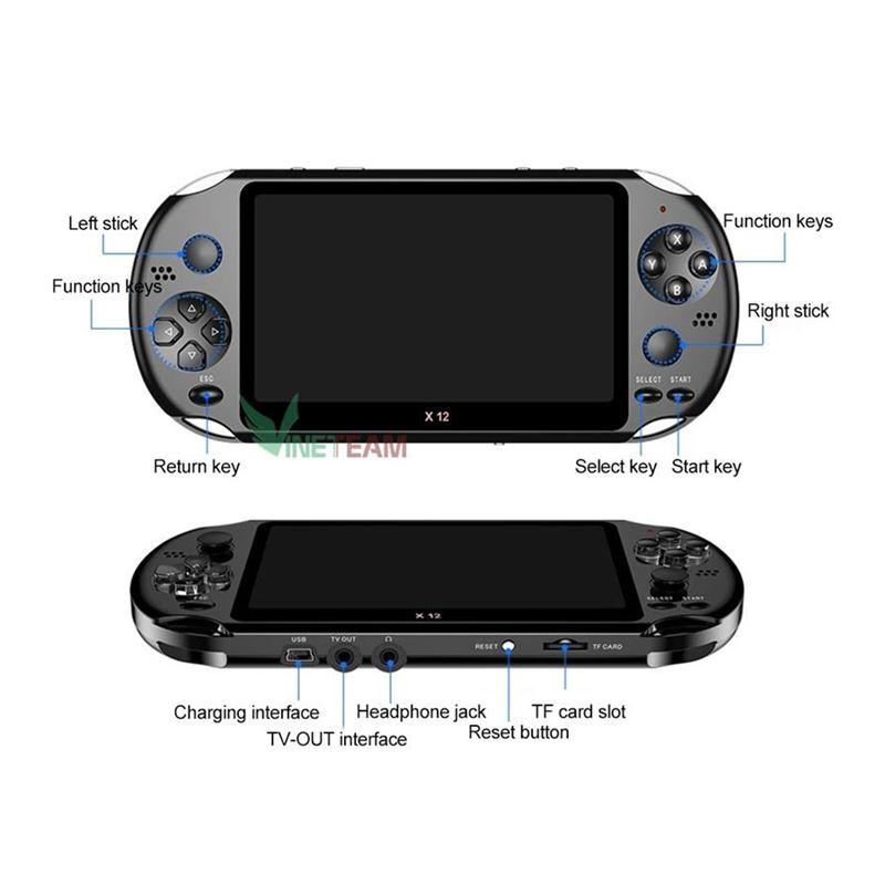 máy chơi game cầm tay X12