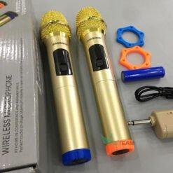 Bộ 2 micro không dây hát karaoke ZANSONG S28A