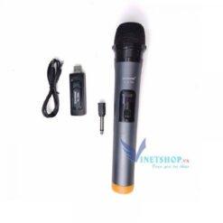 Micro không dây hát karaoke Zansong V12 TU